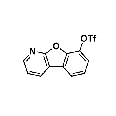 benzofuro[2,3-b]pyridin-8-yl trifluoromethanesulfonate