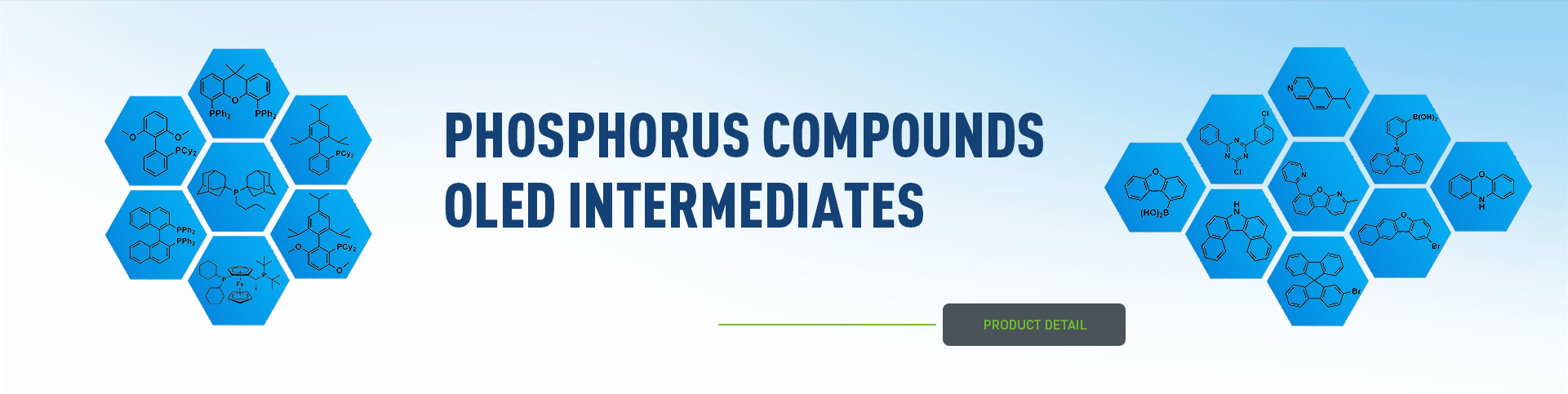 PHOSPHORUS COMPOUNDS OLED INTERMEDIATES