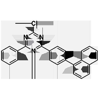 2-chloro-4-(4-(naphthalen-1-yl)phenyl)-6-phenyl-1,3,5-triazine