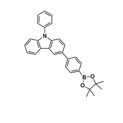 9-phenyl-3-[4-(4,4,5,5-tetramethyl-1,3,2-dioxaborolan-2-yl)phenyl]-9H-Carbazole