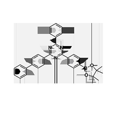 2-([1,1′-biphenyl]-4-yl)-4-phenyl-6-(4-(4,4,5,5-tetramethyl-1,3,2-dioxaborolan-2-yl)phenyl)-1,3,5-triazine