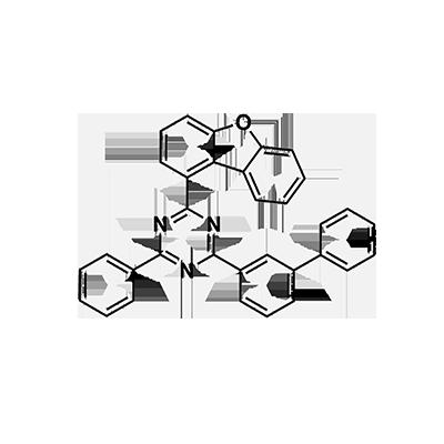 2-([1,1′-biphenyl]-3-yl)-4-(dibenzo[b,d]furan-1-yl)-6-phenyl-1,3,5-triazine